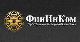 Логотип строительной компании ФинИнКом