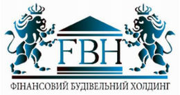 Логотип строительной компании Финансовый строительный холдинг