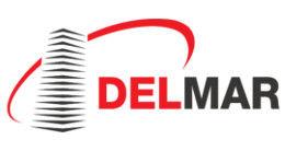 Логотип строительной компании ГК DELMAR