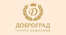 Логотип будівельної компанії ГК Доброград