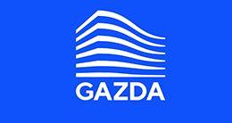 Логотип будівельної компанії Газда (Gazda)