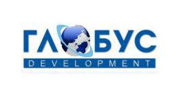 Логотип будівельної компанії Глобус Девелопмент
