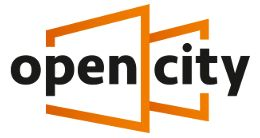 Логотип будівельної компанії Група будівельних компаній Open City Group