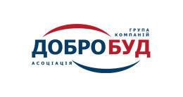 Логотип будівельної компанії Група компаній ДОБРОБУД