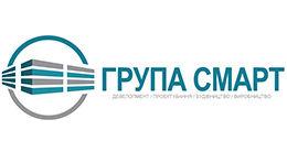 Логотип строительной компании Группа СМАРТ