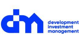 Логотип строительной компании Группа компаний DIM