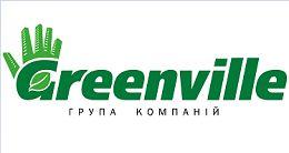 Логотип строительной компании Группа компаний Greenville