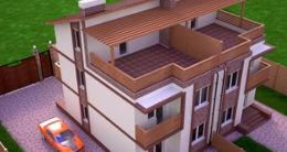 Логотип будівельної компанії Інвестиційний проект Купи будинок під Києвом