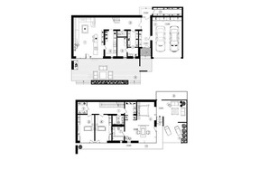 КБ Брюховель: планування 4-кімнатної квартири 275.5 м²