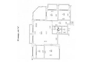 КБ Liberty Residence: планування 4-кімнатної квартири 347.2 м²