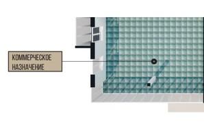КД Crystal house: планировка помощения 65.21 м²