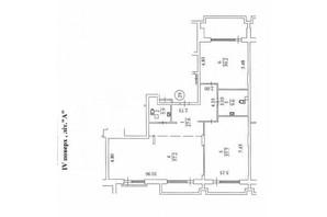 КД Liberty Residence: планировка 3-комнатной квартиры 186.6 м²