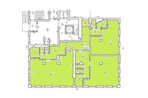 КД Люксембург: планування приміщення 295 м²