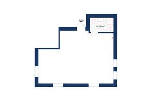 КД Liverpool House: планировка помощения 49.79 м²