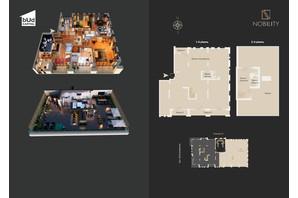 КД Nobility: свободная планировка квартиры 345.4 м²
