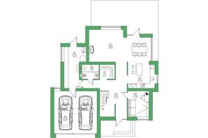КГ Белгравия: планировка 3-комнатной квартиры 236 м²