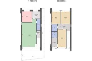 КГ Comfort Life Villas: планировка 4-комнатной квартиры 119 м²