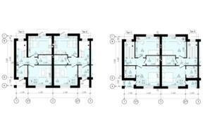 КГ Eurovillage 2: планировка 4-комнатной квартиры 95 м²