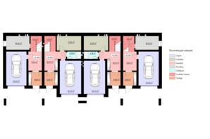 КГ Горизонт: планировка 2-комнатной квартиры 170 м²