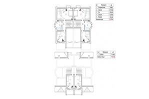 КГ New Cottage Residence: планировка 5-комнатной квартиры 150 м²