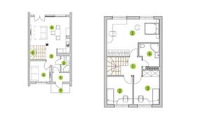 КГ Новая Александровка: планировка 4-комнатной квартиры 92 м²
