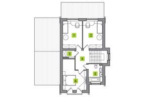 КГ Новая Александровка: планировка 4-комнатной квартиры 122 м²