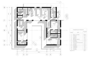 КГ Новая Березовка: планировка 5-комнатной квартиры 403 м²