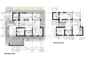 КГ Новая Березовка: планировка 5-комнатной квартиры 296 м²
