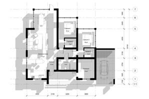 КГ Новая Березовка: планировка 3-комнатной квартиры 156 м²