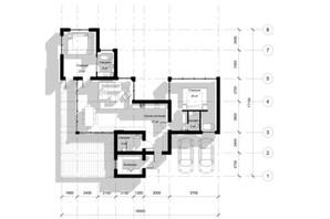 КГ Новая Березовка: планировка 3-комнатной квартиры 127 м²