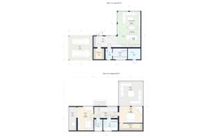 КГ Новая Конча-Заспа Crystal: планировка 3-комнатной квартиры 198 м²
