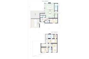КГ Новая Конча-Заспа Crystal: планировка 3-комнатной квартиры 200 м²