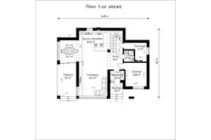 КГ Орион - 1: планировка 5-комнатной квартиры 175 м²