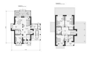 КГ Park House: планировка 3-комнатной квартиры 230 м²