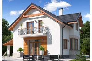 КГ Praud Hills: планировка 4-комнатной квартиры 124 м²