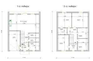 КГ Премиум на Орлыка: планировка 4-комнатной квартиры 178 м²