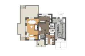 КГ Провесинь: планировка 6-комнатной квартиры 192 м²