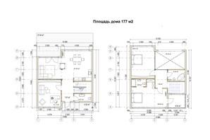 КГ River Garden: планировка 5-комнатной квартиры 177 м²
