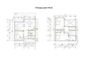 КГ River Garden: планировка 4-комнатной квартиры 139 м²