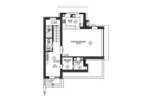 КГ Riviera Gold: планировка 4-комнатной квартиры 170 м²