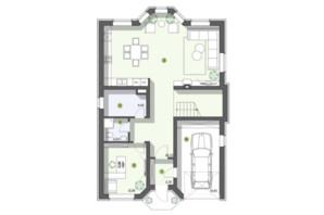 КГ Рославичи: планировка 3-комнатной квартиры 200 м²