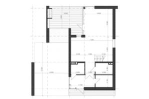 КГ Shelest.home: планировка 5-комнатной квартиры 215.55 м²