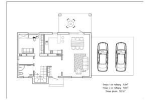 КГ Солнечный склон: планировка 4-комнатной квартиры 155.6 м²