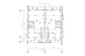 КГ проул. Пугачёва/ул. Д. Галицкого: планировка 2-комнатной квартиры 90 м²