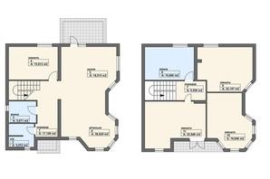 КК Городок здоровья: свободная планировка квартиры 200 м²