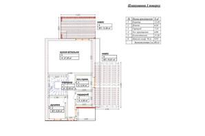 КК Михайлівський: планування 3-кімнатної квартири 120 м²
