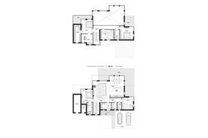 КМ 9 Елементів: планування 5-кімнатної квартири 288 м²