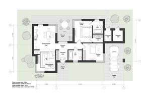 КМ 9 Елементів: планування 2-кімнатної квартири 111.5 м²