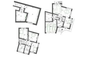 КМ Буковий Гай: планування 3-кімнатної квартири 315 м²