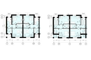 КМ Eurovillage 2: планування 4-кімнатної квартири 95 м²